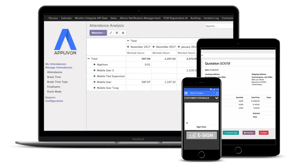 Applivon-multi-apps